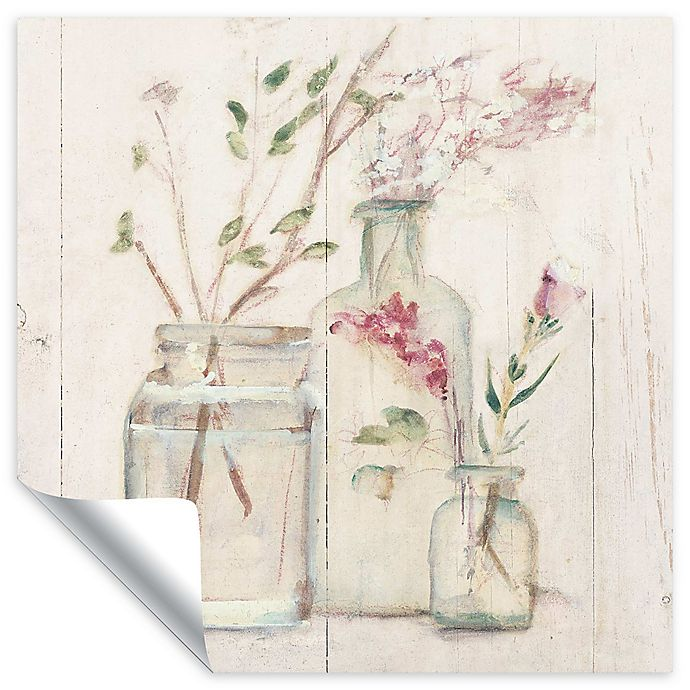 Alternate image 1 for Blossoms on Birch 24-Inch Square Wall Decal