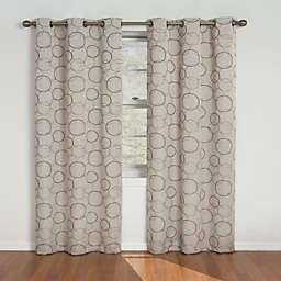 Eclipse Meridian Grommet Room Darkening Window Curtain Panels