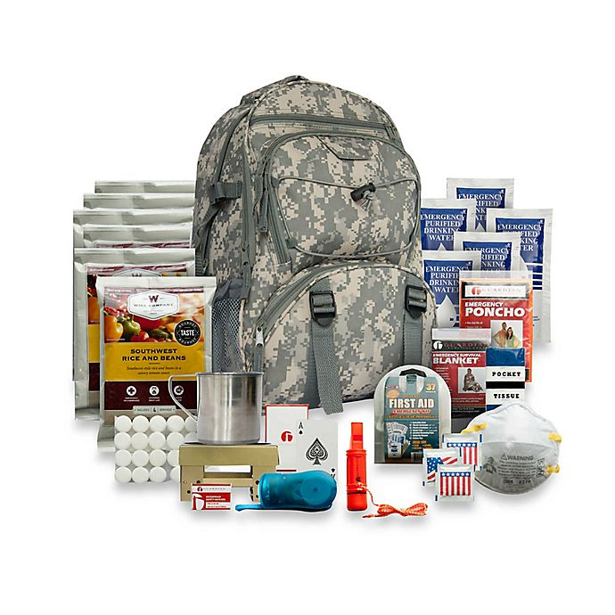Alternate image 1 for Wise Foods Company 5-Day Survival Backpack