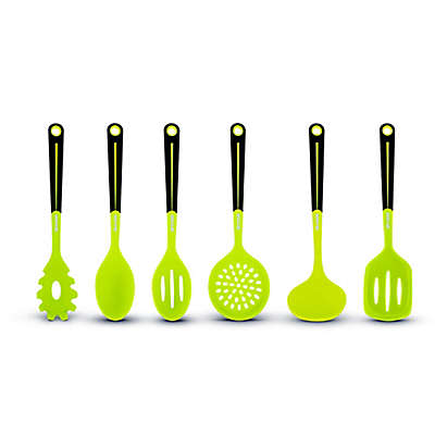 Art and Cook™ 6-Piece Silicone Kitchen Utensil and Tool Set