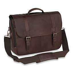 Kenneth Cole Reaction® Dark Brown Show Business Flap-Over Computer Case