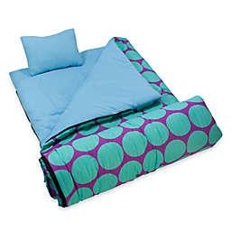 Wildkin Sleeping Bag - Dots Aqua
