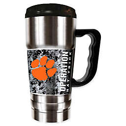 Clemson University Operation Hat Trick™ Stainless Steel Travel Mug
