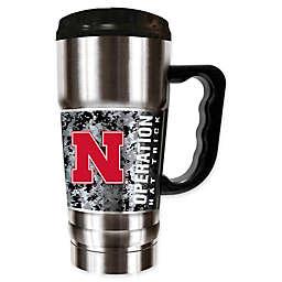 University of Nebraska Operation Hat Trick™ Stainless Steel Travel Mug