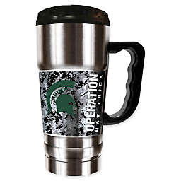 Michigan State University Operation Hat Trick™ Stainless Steel Travel Mug