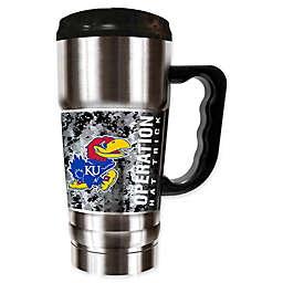 University of Kansas Operation Hat Trick™ Stainless Steel Travel Mug