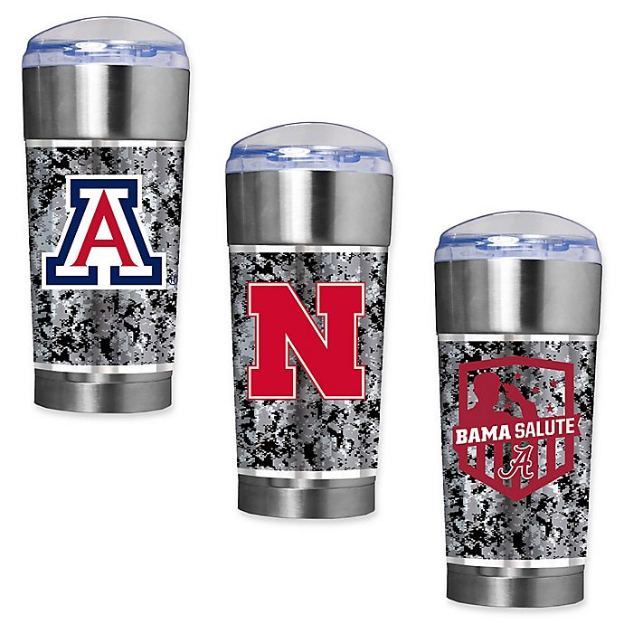 Alternate image 1 for Collegiate Operation Hat Trick™ 24 oz. Vacuum Insulated EAGLE Party Cup