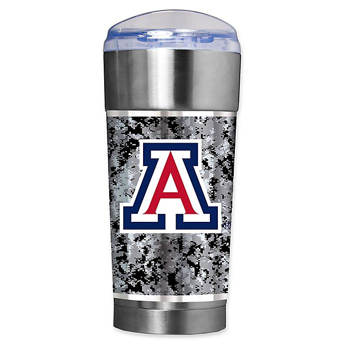 Alternate image 1 for University of Arizona Operation Hat Trick™ 24 oz. Vacuum Insulated EAGLE Party Cup