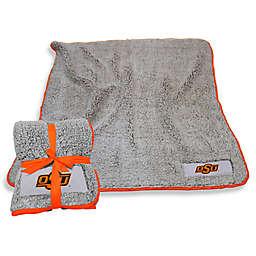 Oklahoma State University Frosty Fleece Throw Blanket