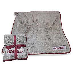 Virginia Tech Frosty Fleece Throw Blanket