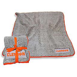 Clemson University Frosty Fleece Throw Blanket