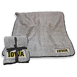 University of Iowa Frosty Fleece Throw Blanket