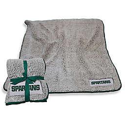 Michigan State University Frosty Fleece Throw Blanket