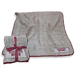 Mississippi State University Frosty Fleece Throw Blanket