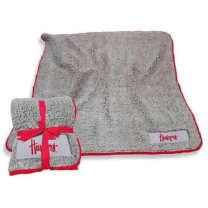 Alternate image 1 for University of Nebraska-Lincoln Frosty Fleece Throw Blanket
