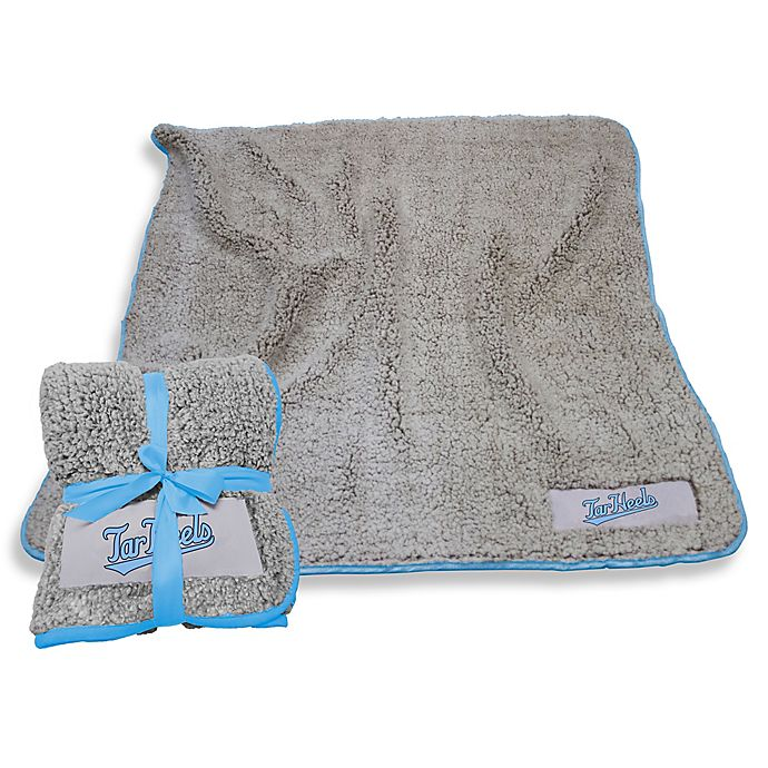 Alternate image 1 for University of North Carolina Frosty Fleece Throw Blanket