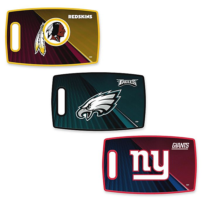 Alternate image 1 for NFL 9.5-Inch x 14.5-Inch Polypropylene Cutting Board Collection