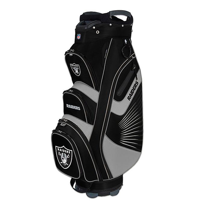 Alternate image 1 for NFL Oakland Raiders Bucket II Cooler Cart Golf Bag