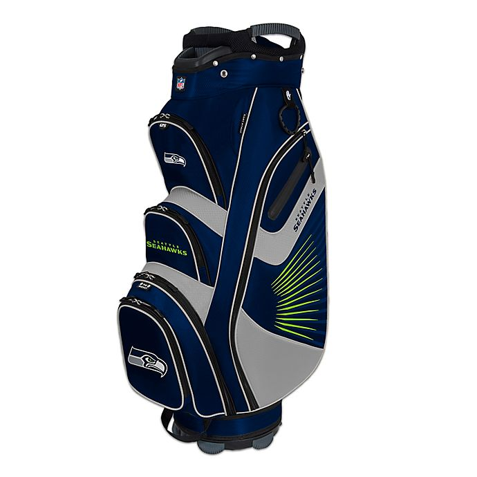 Alternate image 1 for NFL Seattle Seahawks Bucket II Cooler Cart Golf Bag