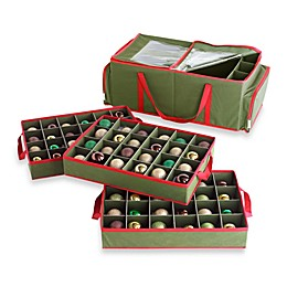 Real Simple® 3-Tray Holiday Ornament Storage