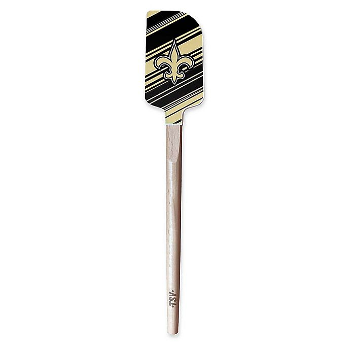 Alternate image 1 for NFL New Orleans Saints Heavy Duty Silicone Spatula