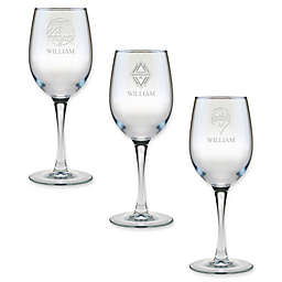 MLS 12 oz. Personalized Wine Glass Collection