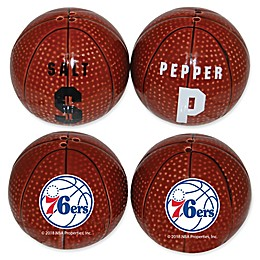 NBA Philadelphia 76ers Basketball Jersey Salt & Pepper Shakers Set