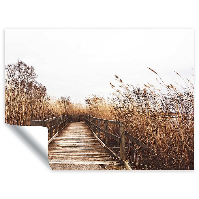 Alternate image 1 for Fall Walk II 18-Inch x 24-Inch Removable Wall Decal