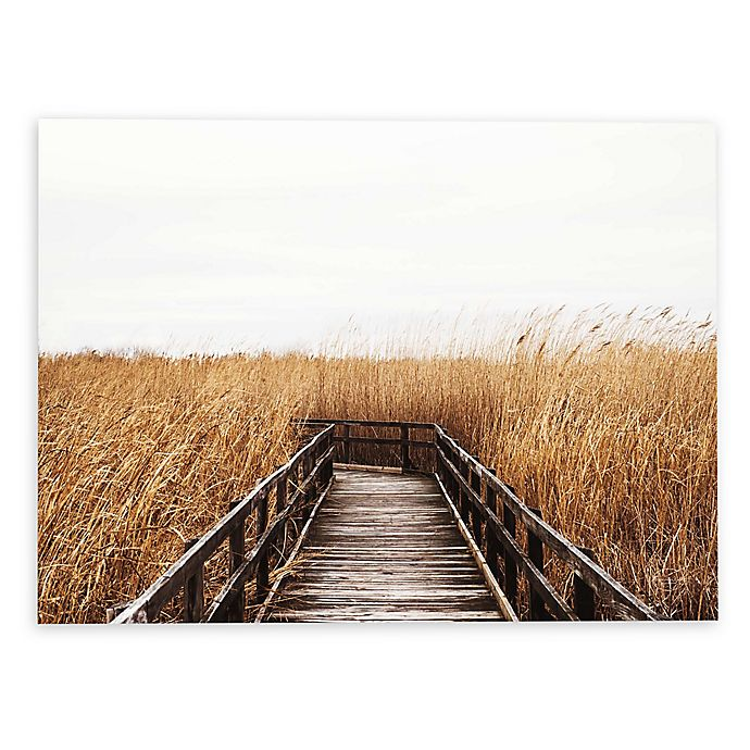 Alternate image 1 for Studio Brookview Fall Walk 16-Inch x 24-Inch Canvas Wall Art