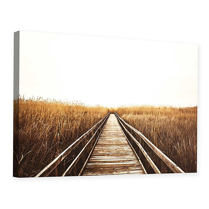 Alternate image 1 for Fall Walk I 32-Inch x 48-Inch Canvas Wall Art