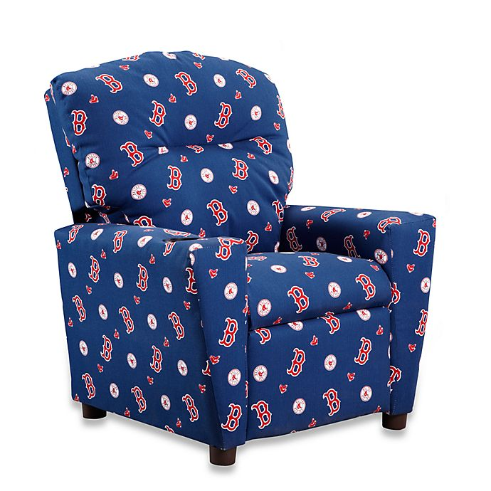 Alternate image 1 for Official MLB® Kids Recliner in Boston Red Sox