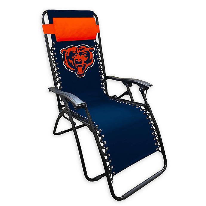 Nfl Chicago Bears Zero Gravity Lounger, Chicago Bears Furniture