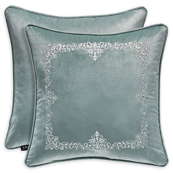 J Queen New York Donatella 18 Inch Square Throw Pillow