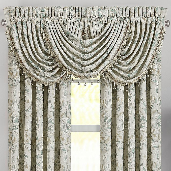 J Queen New York Donatella Waterfall Window Valance In