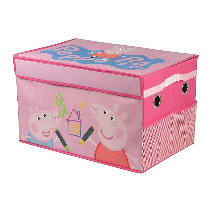 Alternate image 1 for Peppa Pig Foldable Storage Trunk