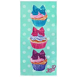 JoJo Siwa™ Cupcake Beach Towel in Mint