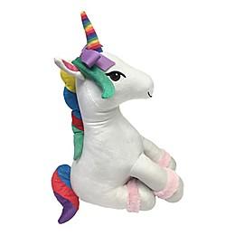 JoJo Siwa™ 14-Inch Unicorn Throw Pillow in White