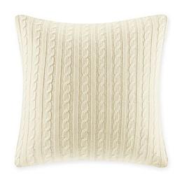 Woolrich® Buckley Cable Knit European Pillow Sham