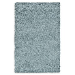 Unique Loom Solid Shag Rug in Light Slate Blue