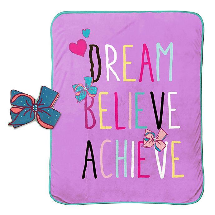 JoJo Siwa™ 2-Piece Dream Pillow and Blanket Set | buybuy BABY