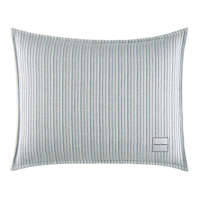 Alternate image 1 for Tommy Bahama® La Prisma Stripe Texture Oblong Throw Pillow in Green