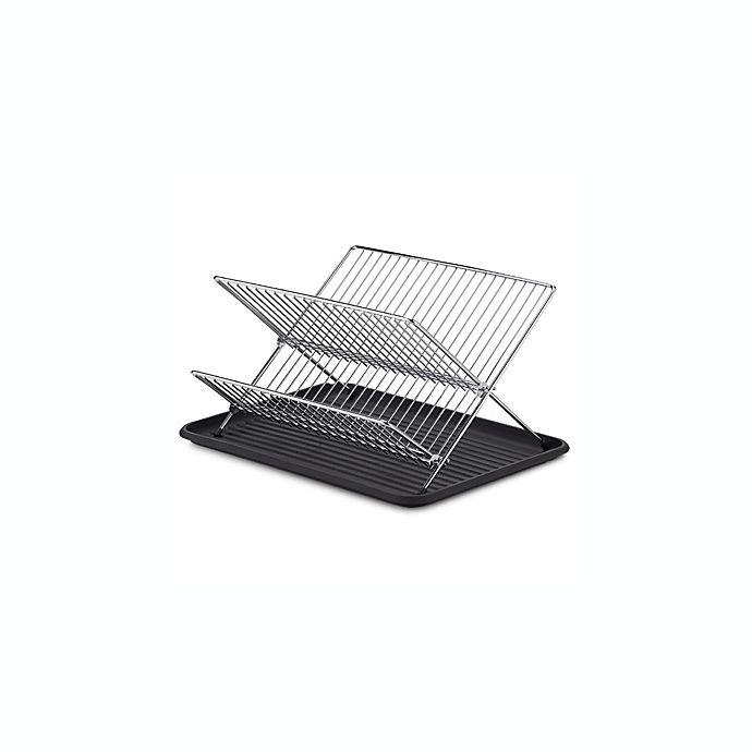 Alternate image 1 for SALT™ Folding Dish Rack and Drain Board Set