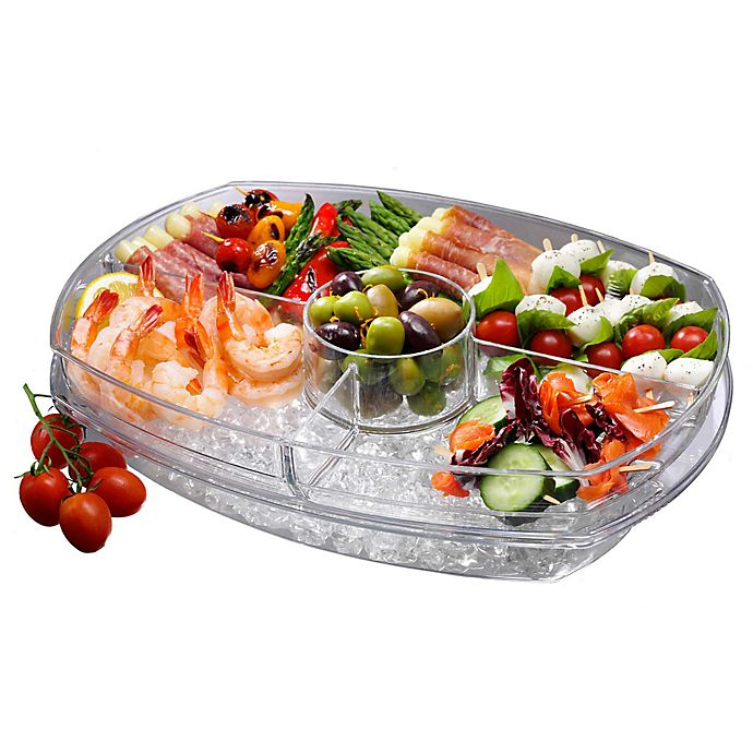 Alternate image 1 for Prodyne Flip-Lid Appetizers on Ice™ Tray