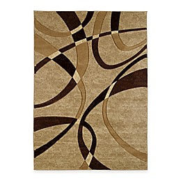 United Weavers Contours La-Chic Area Rugs in Chocolate