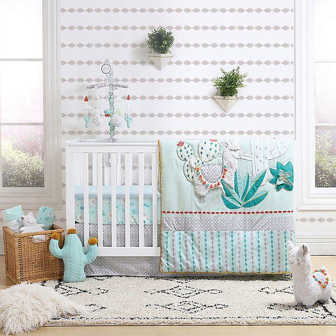 Alternate image 1 for The Peanutshell® Little Llama Crib Bedding Collection