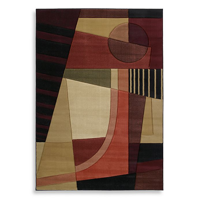 Alternate image 1 for Urban Angles Rug in Green