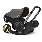 Doona™+ Infant Car Seat/Stroller with LATCH Base in Grey Hound