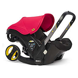 Doona™+ Infant Car Seat/Stroller with LATCH Base in Flame Red