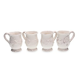 Certified International Firenze Mugs in Ivory (Set of 4)