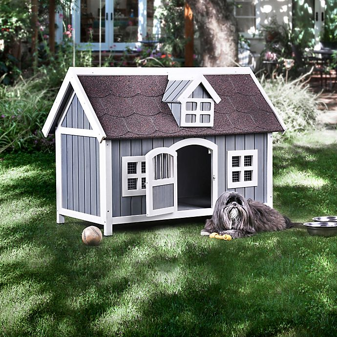 Alternate image 1 for Dory Dog House in Grey